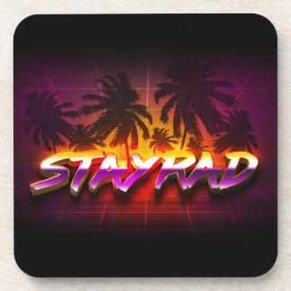 StayRad 80s Beverage Coaster