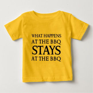 STAYS AT THE BBQ SHIRT