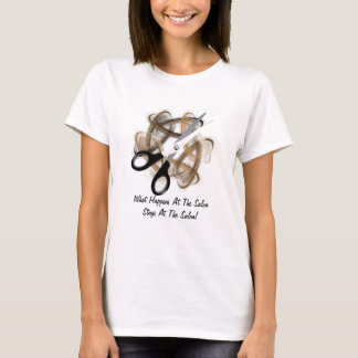 Stays At The Salon (customizable) T-Shirt