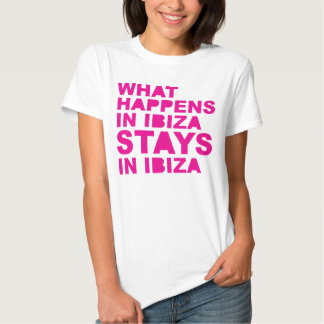 Stays In Ibiza T Shirt