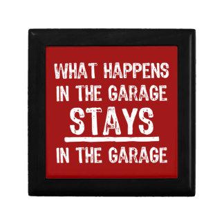 Stays In The Garage Jewelry Box