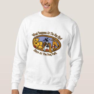 Stays @ The Dog Park Sweatshirt