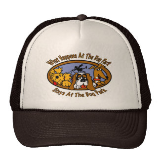 Stays @ The Dog Park Trucker Hat