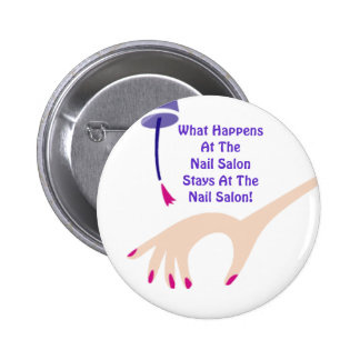Stays @ The Nail Salon Button