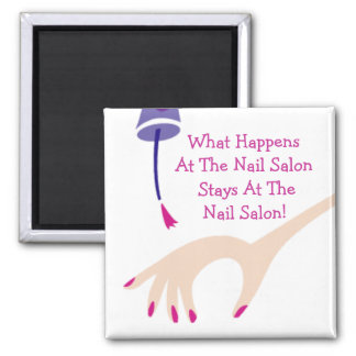 Stays @ The Nail Salon Magnet
