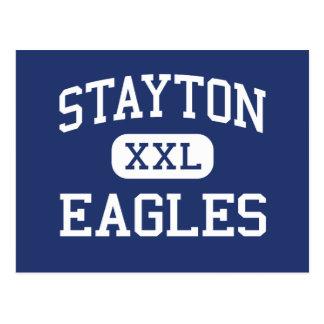 Stayton - Eagles - High School - Stayton Oregon Postcards