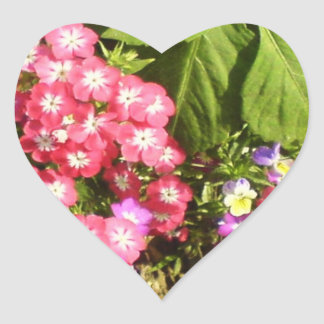 STBX Floral Decoration for Gift, Greetings, Craft Heart Sticker