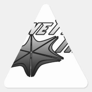 STC Designs Triangle Sticker