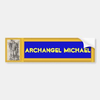 Stcker del parachoque de Michael del arcángel Pegatina De Parachoque