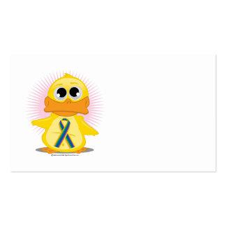 STD Ribbon Duck Business Card