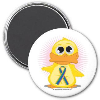 STD Ribbon Duck Magnet