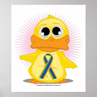 STD Ribbon Duck Poster