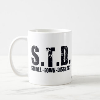 STD Small Town Disgrace Coffee Mug