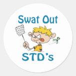 Stds Classic Round Sticker