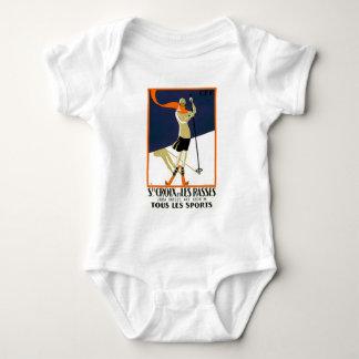 Ste Croix et les Rasses tous le Sports Baby Bodysuit