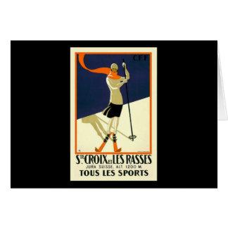 Ste Croix et les Rasses tous le Sports Card