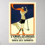 """Ste Croix y viaje suizo del vintage de Les Rasses Impresiones"