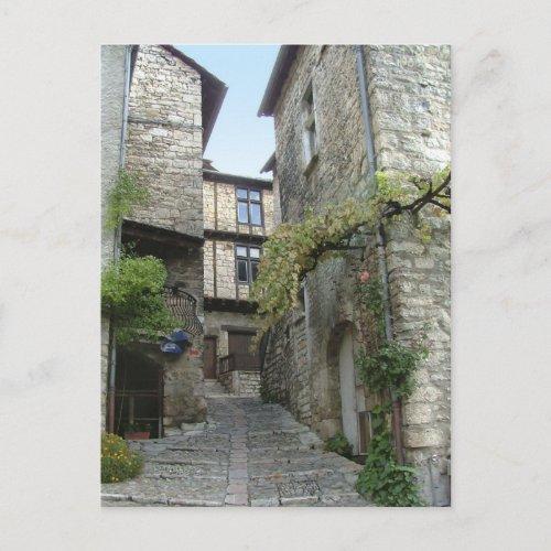Ste Enimie, France. postcard postcard