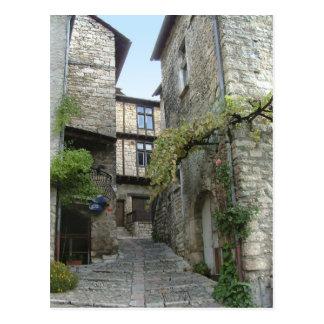Ste Enimie, France. postcard