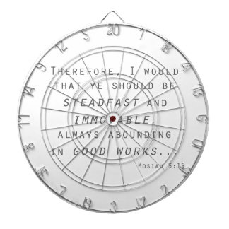 steadfast immovable mosiah lds scripture dartboards