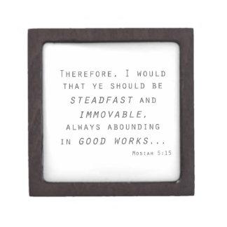 steadfast immovable mosiah lds scripture keepsake box