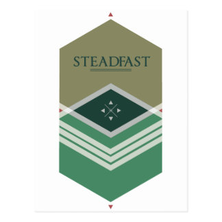Steadfast Postcard