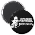 Steadily Drinking Retro Party Guy Refrigerator Magnet