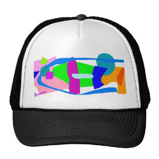 Steady Down to Earth Cloud Everyone Saved Trucker Hat