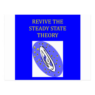 steady state theory postcard