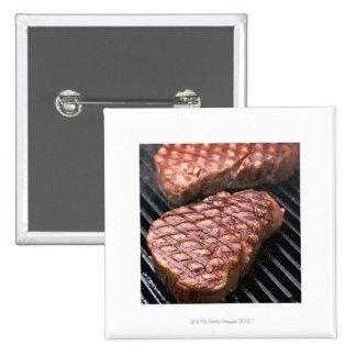 Steak 2 pinback button