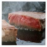 Steak 3 ceramic tiles