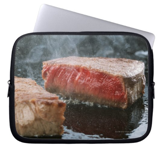 Steak 3 laptop sleeve