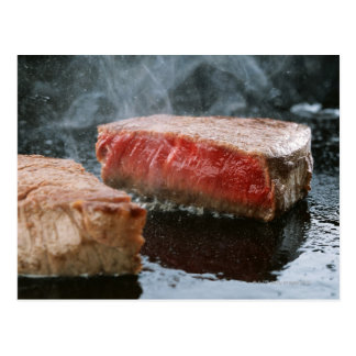Steak 3 postcard