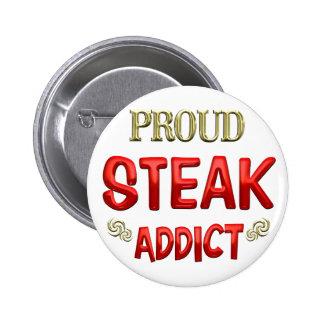Steak Addict Buttons