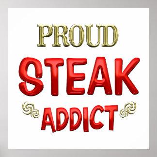 Steak Addict Poster