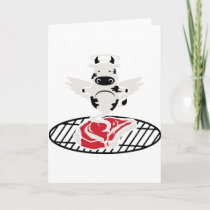 Steak Angel Holiday Card