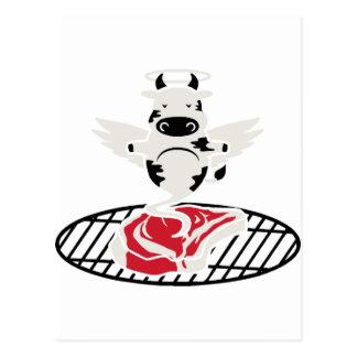 Steak Angel Postcard
