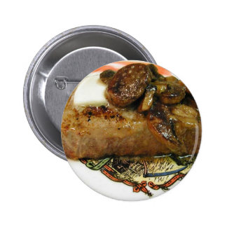 Steak Butter Mushrooms Pin