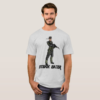 Steak Eater - T-Shirt W/ Solid Hank