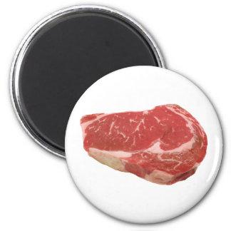 Steak fridge magnet