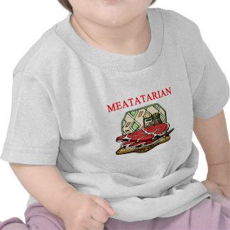 steak hamburger and meat tee shirts