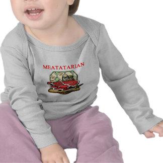 steak hamburger and meat t-shirts