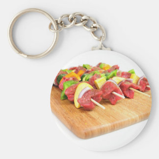 Steak Kabob Keychain