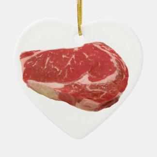 Steak ornament