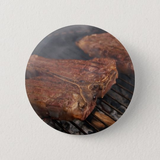 Steaks Grilling Barbecue Grills Meat Button