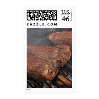 Steaks Grilling Barbecue Grills Meat Postage Stamps