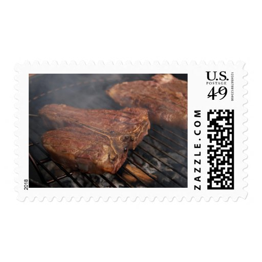 Steaks Grilling Barbecue Grills Meat Stamps