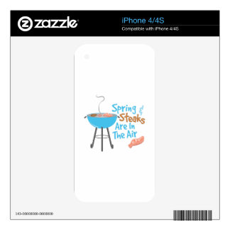 Steaks In Air Skins For The iPhone 4S