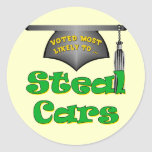 Steal Cars Sticker