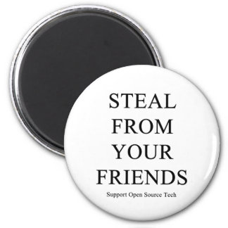 Steal From Your Friends Magnet
